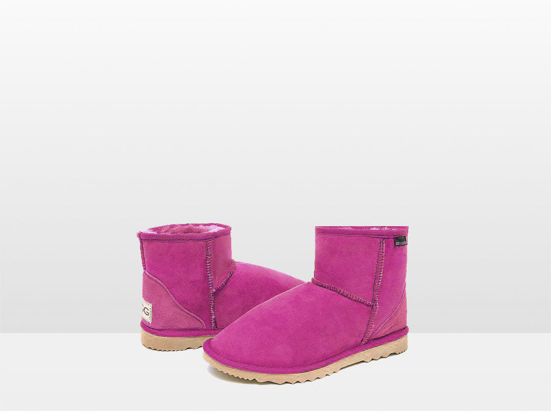Adults Bright Rose Classic Ultra Short Ugg Boots
