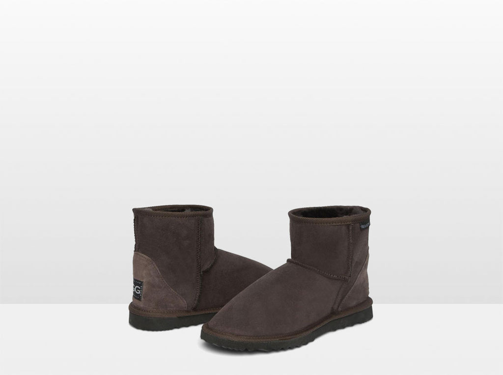 Adults Chocolate Classic Ultra Short Ugg Boots