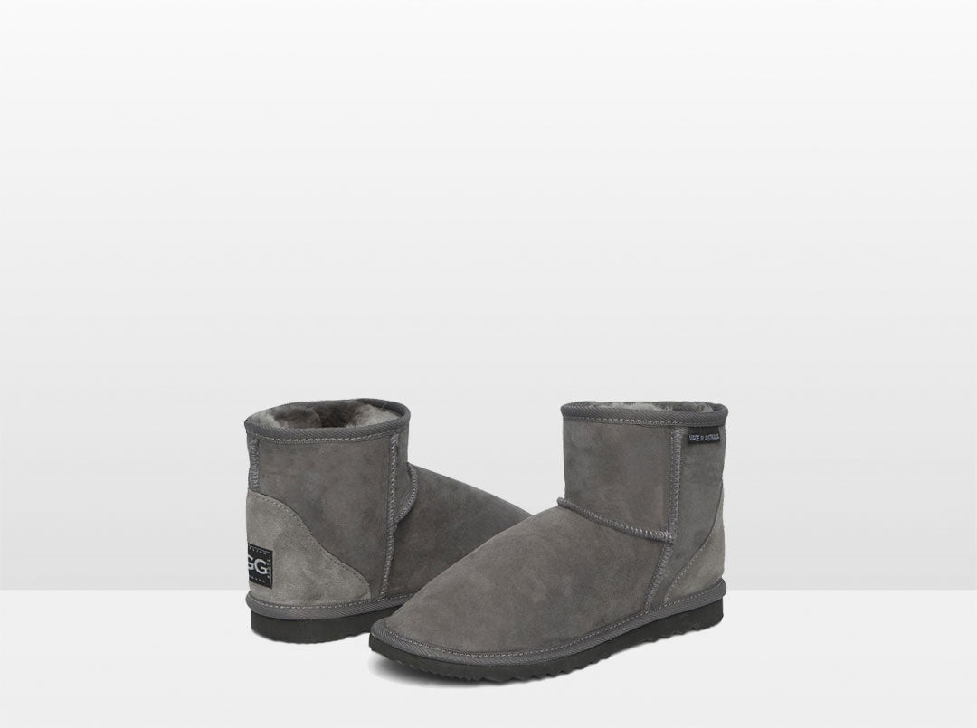 Adults Grey Classic Ultra Short Ugg Boots