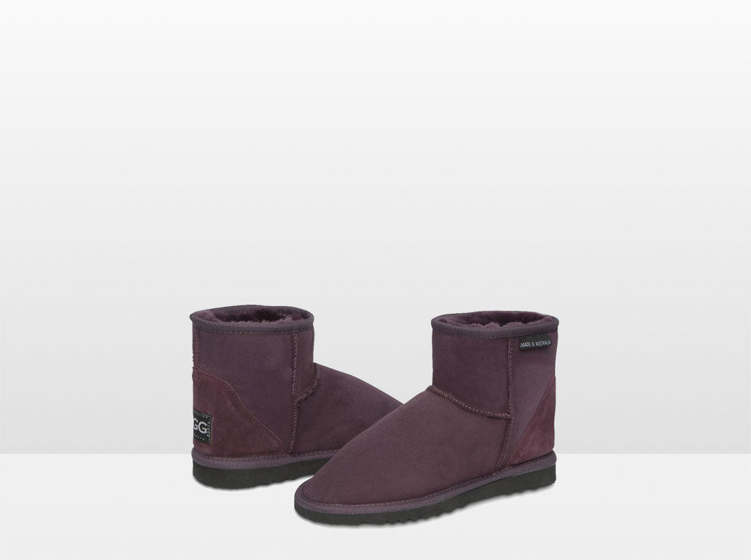 Adults Raisin Classic Ultra Short Ugg Boots