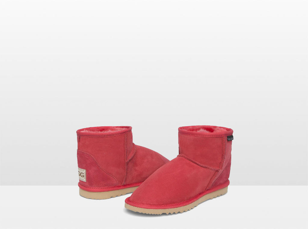 Adults Scarlet Classic Ultra Short Ugg Boots