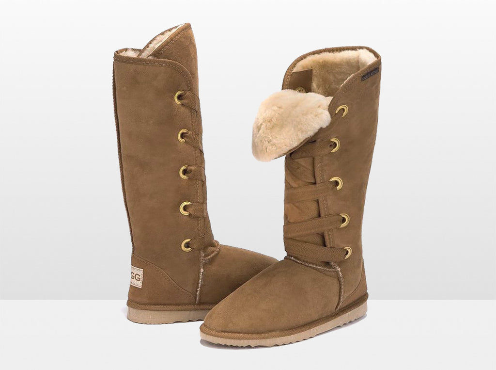 Adults Chestnut Dance Tall Ugg Boot