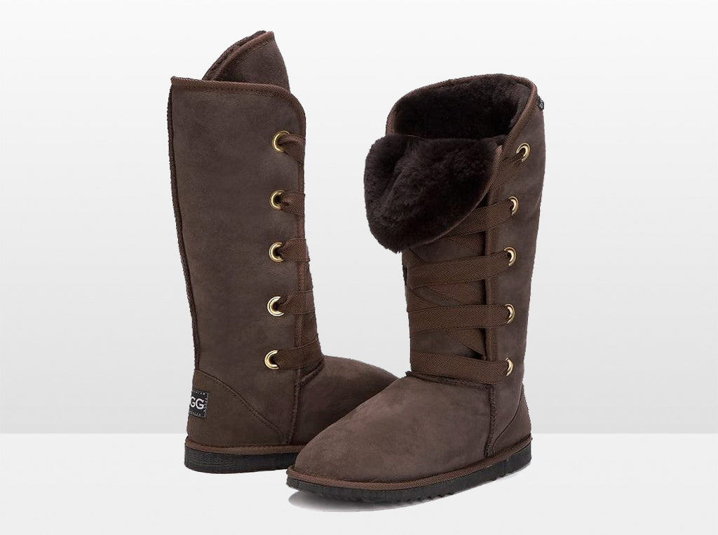 Adults Chocolate Dance Tall Ugg Boot
