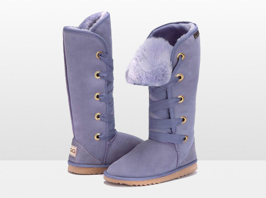 Adults Lilac Dance Tall Ugg Boot