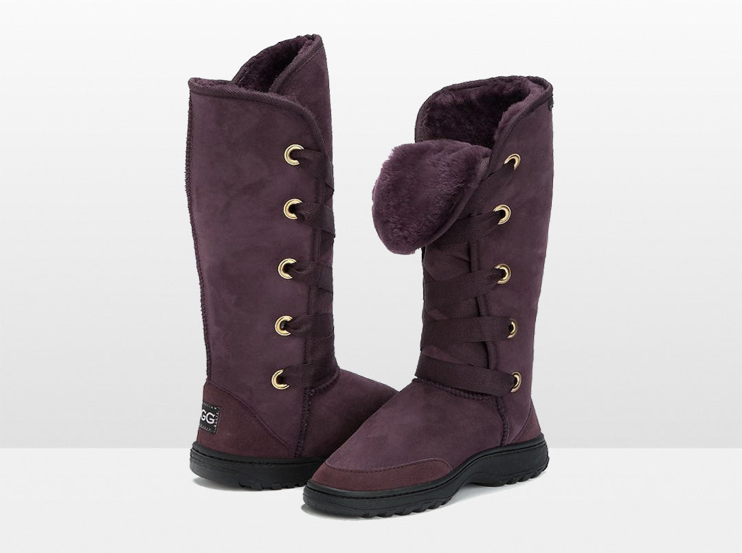 Adults Raisin Dance Tall Ugg Boot with Outdoor Sole
