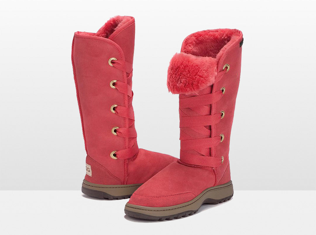 Adults Scarlet Dance Tall Ugg Boot with Outdoor Sole