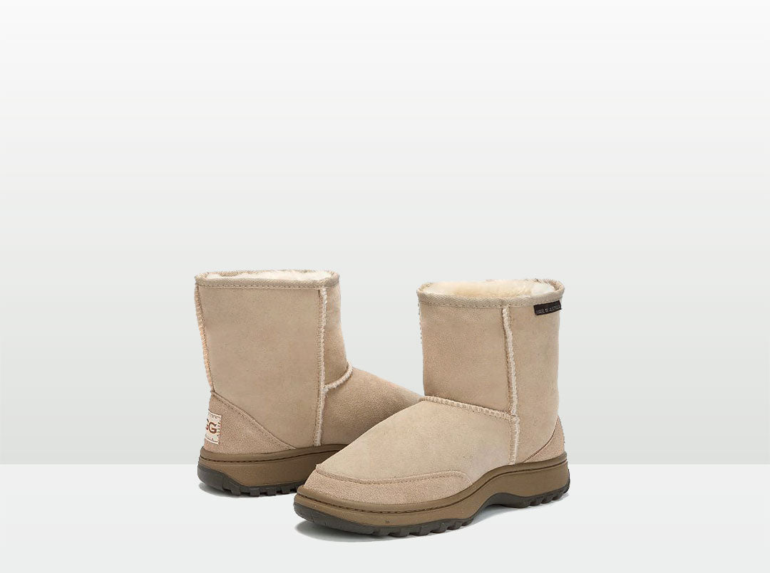 Adults Sand Classic Short Ugg Boots with Outdoor Sole