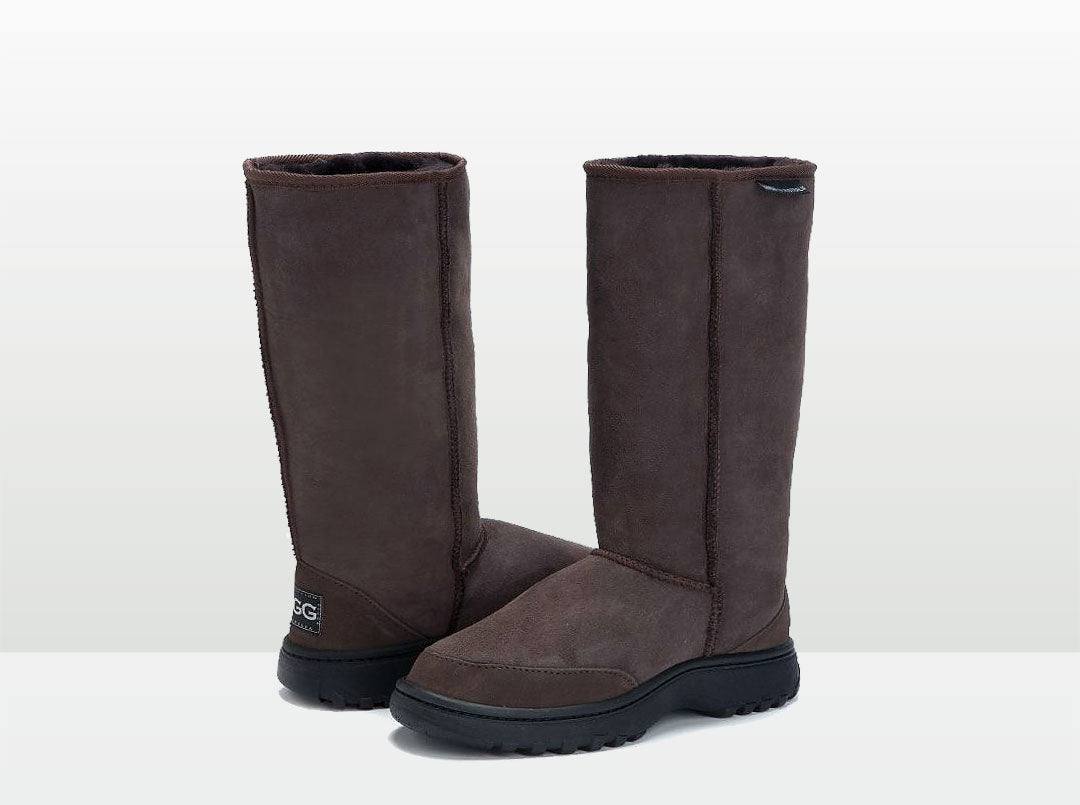 Adults Chocolate Outdoor Ugg Boots