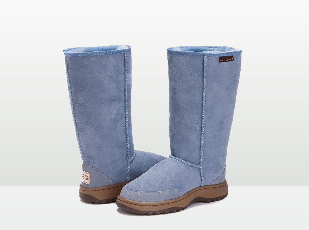 Adults Denim Blue Outdoor Ugg Boots