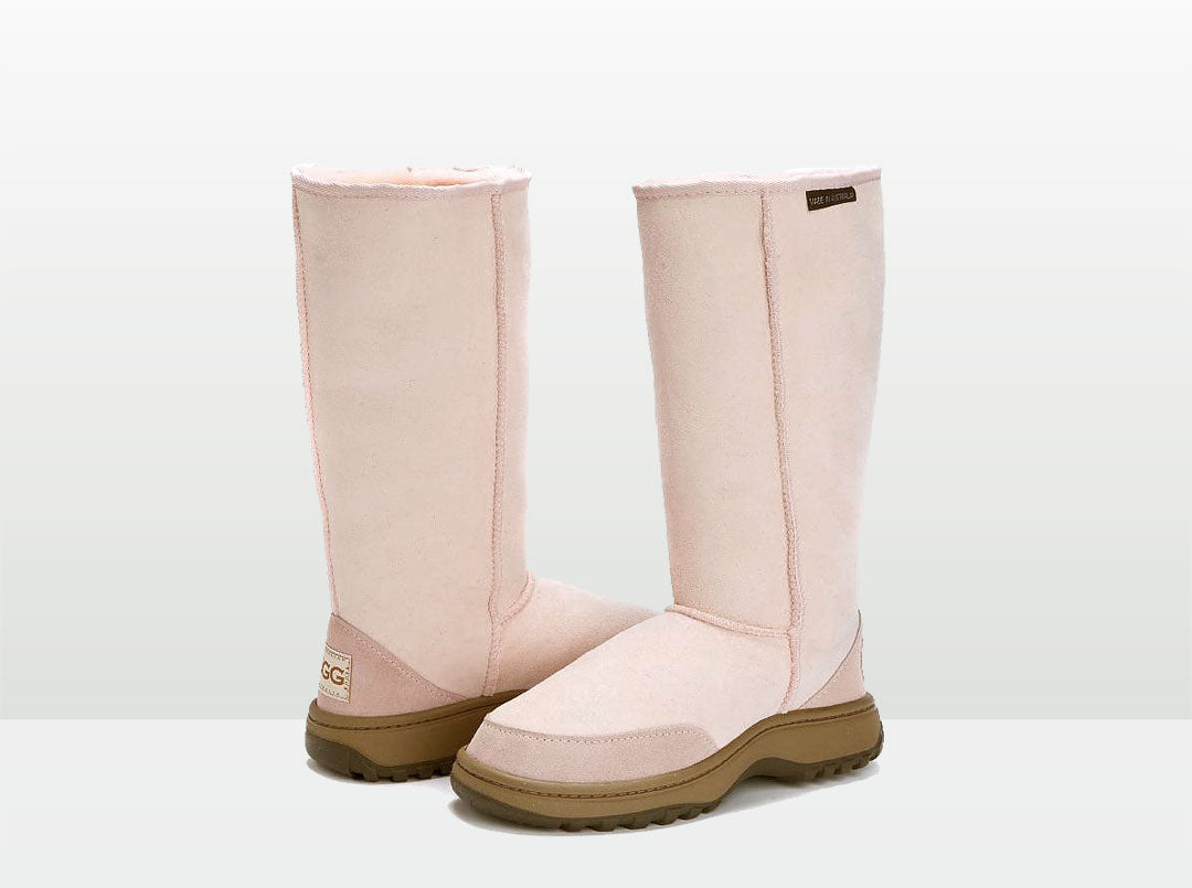 Adults Pink Outdoor Ugg Boots