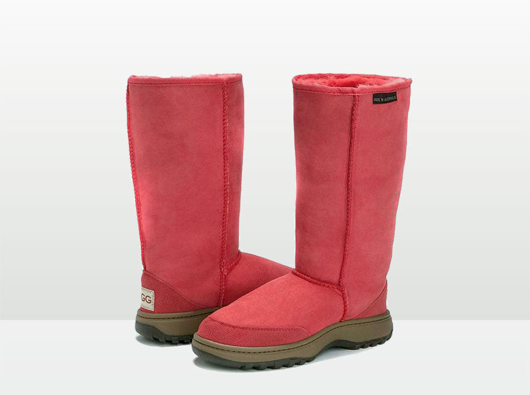 Adults Scarlet Outdoor Ugg Boots