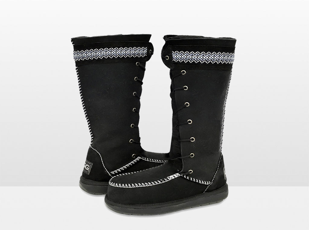 Adults Premium Nordic Ugg Boot Black