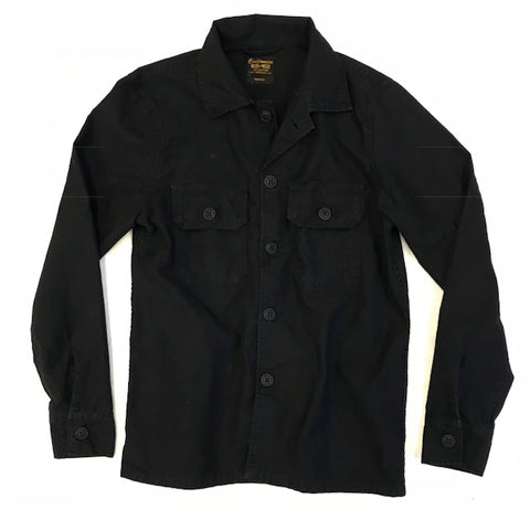 Pocket Cotton Erika Jacket - Sharp Black