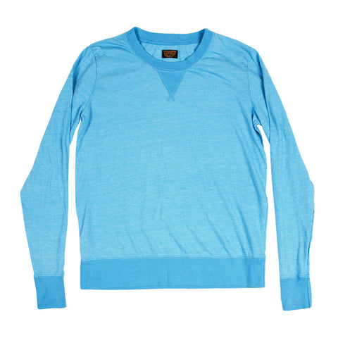 Women's Long Sleeve Crew Neck Tri-blend Jersey