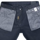 5-Pocket Slim Fit Twill Pants - Dark Navy