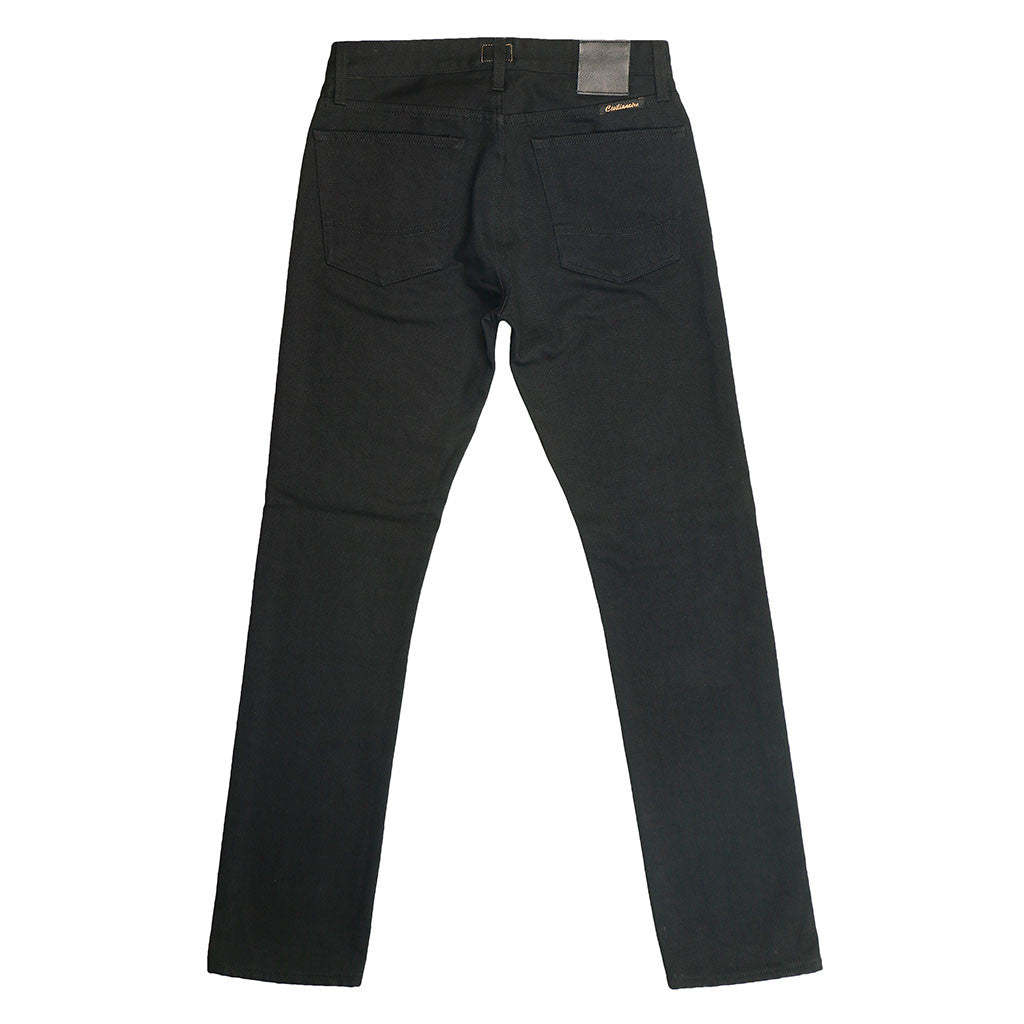 13.5 oz. Italian Denim Flaco (Skinny) Jean - Black