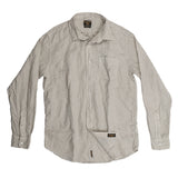 Men's Long Sleeve 1 Pocket Shirt Linen - Stone Age