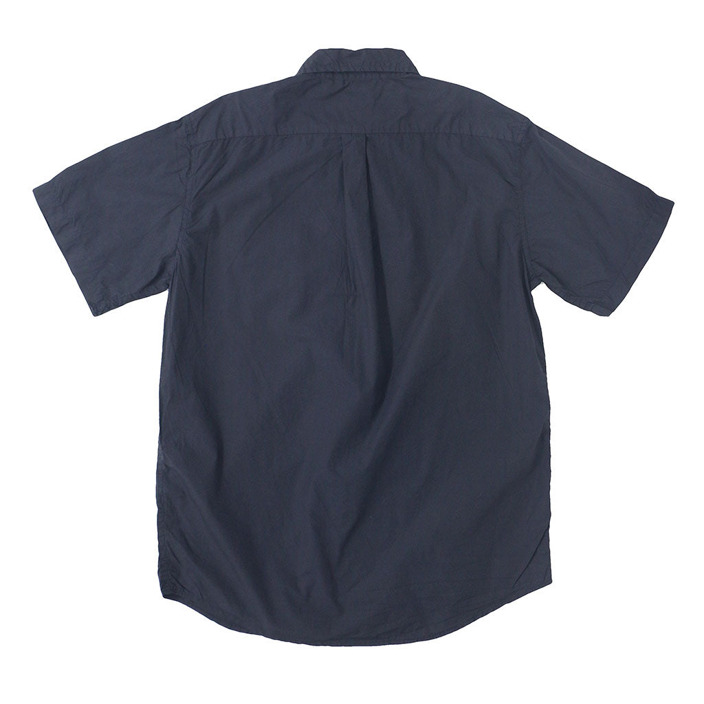 Short Sleeve 1 Pocket Shirt Poplin - EZ Dark Navy