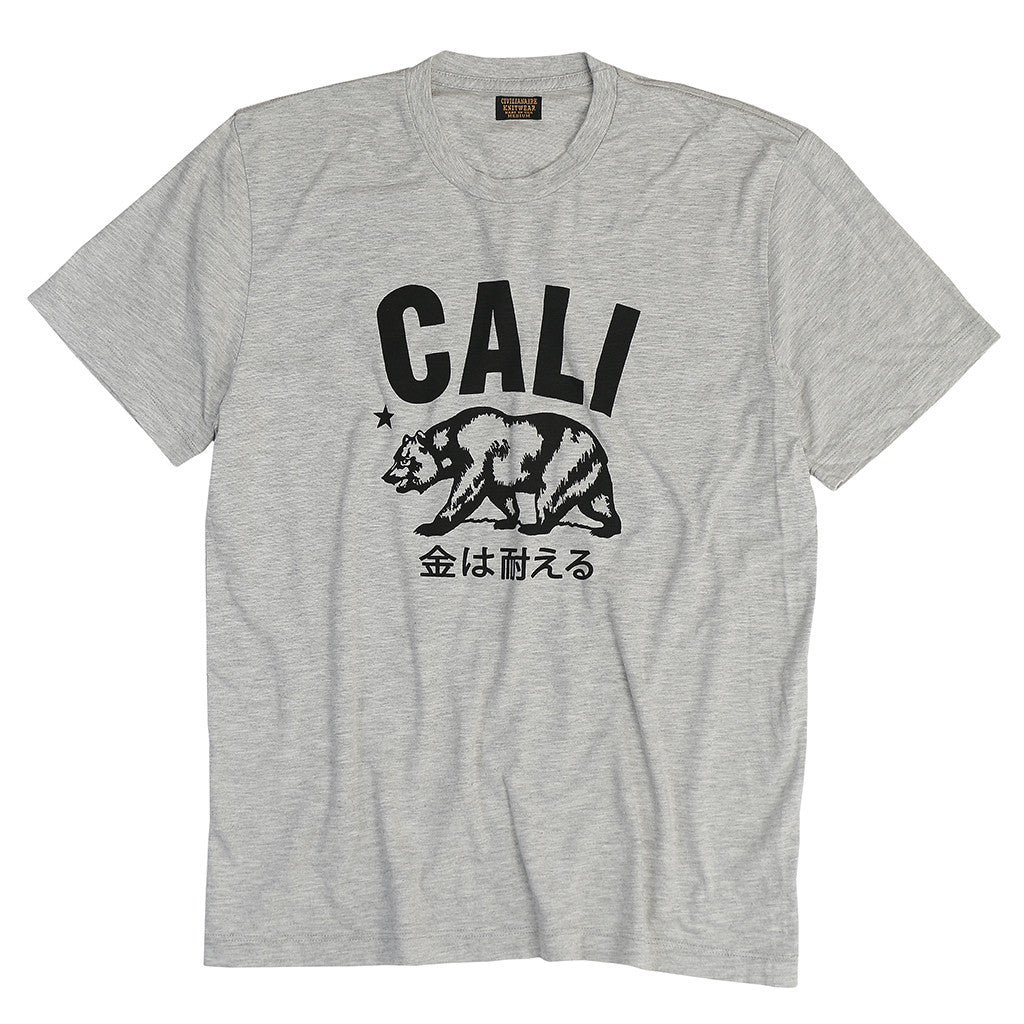 "Men's ""Cali"" Tee -  Slub Heather Grey"