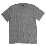 Men's Crew Neck Short Sleeve Tri-Blend Tee - Heather Grey