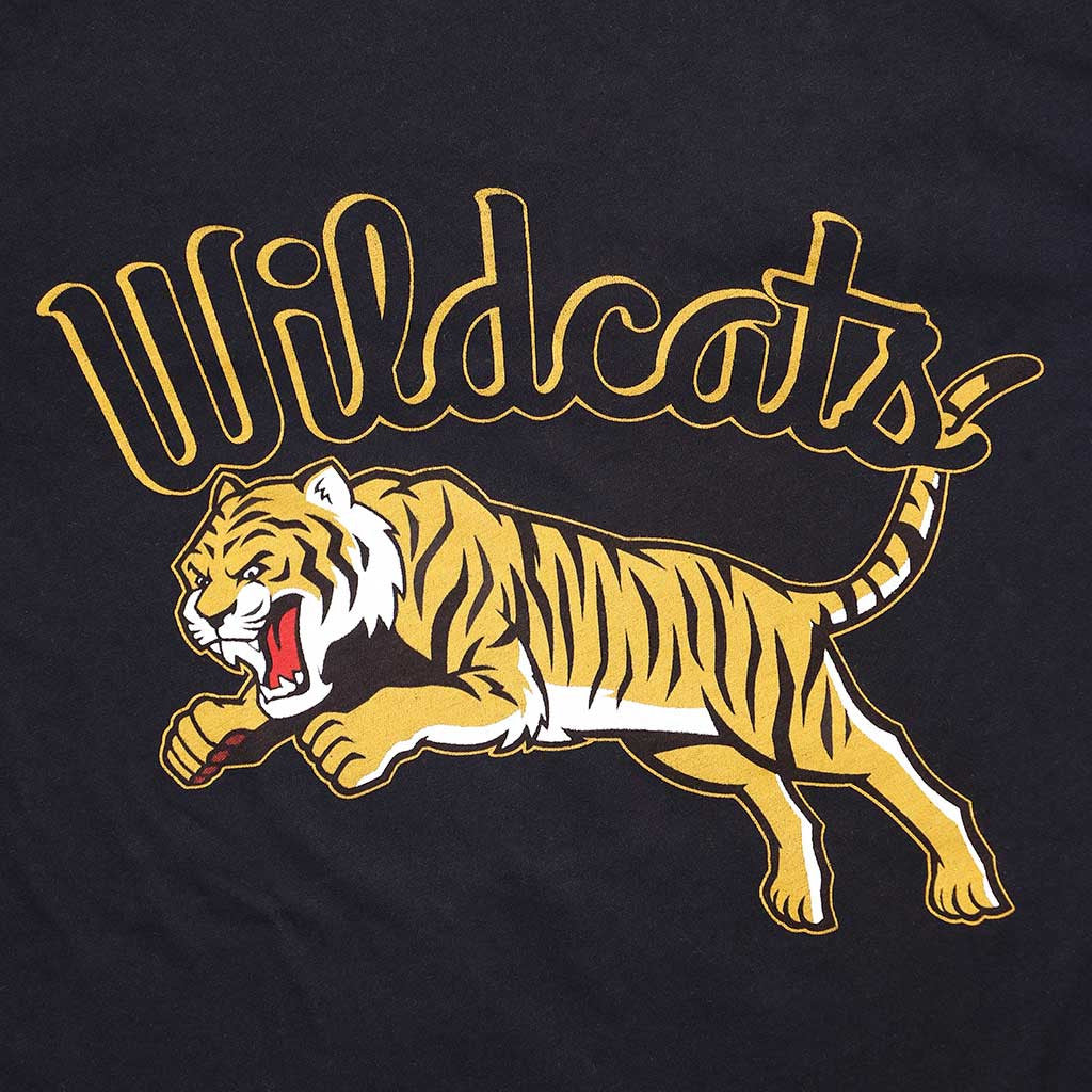 """WILDCATS TIGER"" TEE - SHARP BLACK"