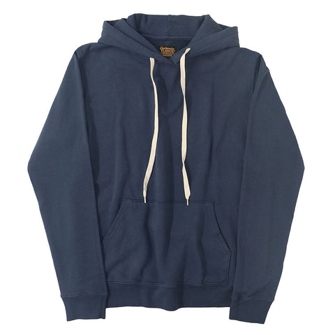 Men's Fleece Pullover Hoodie - Dark Slate Blue
