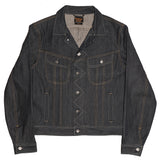 Men's 5 Pocket 13.5 oz Gold Selvage Denim Ryder Jacket - Indigo