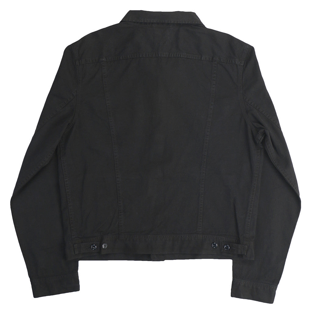 Men's 5 Pocket 7.8 oz Twill Ryder Jacket - Jet Black