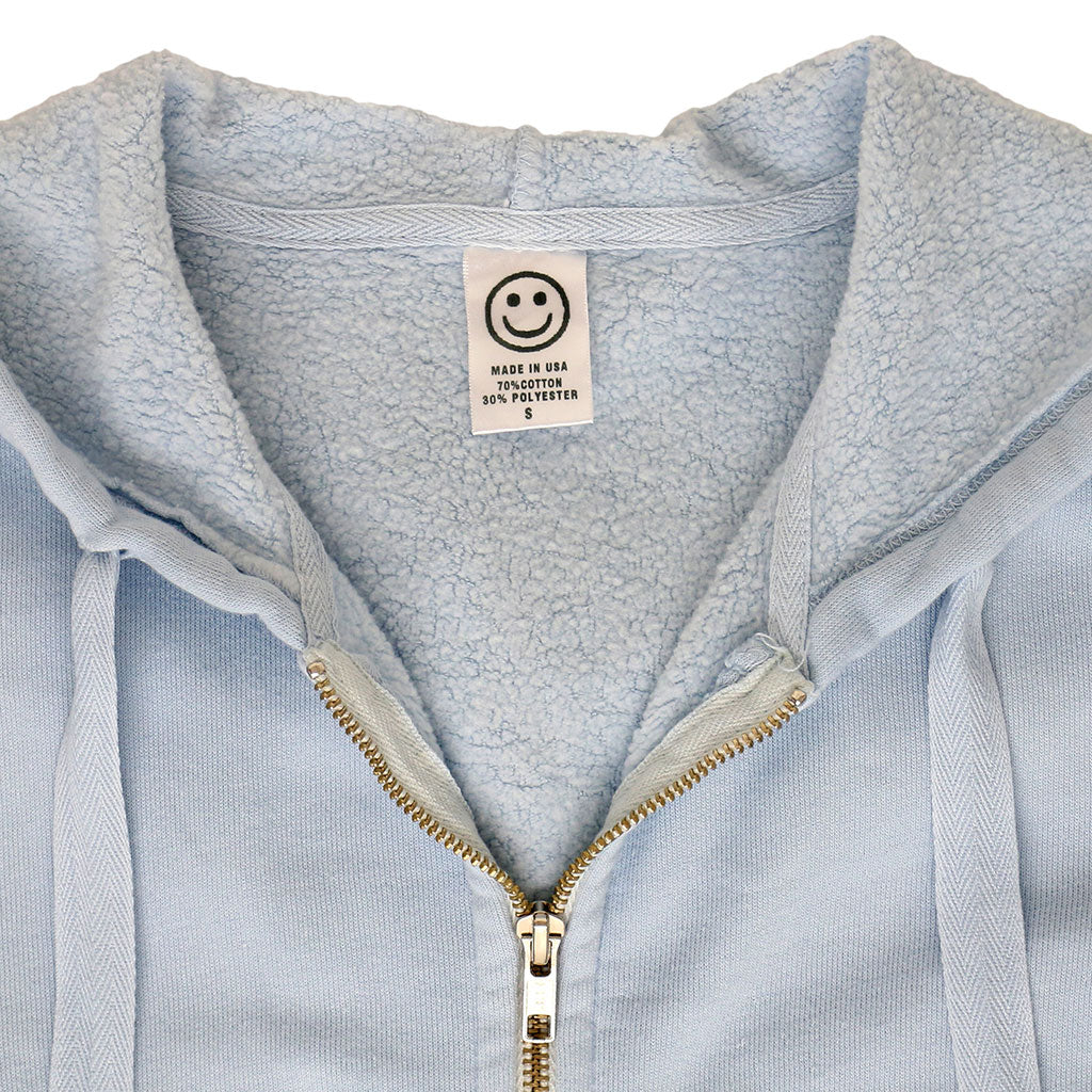 Peace Store Women's Zip Hooded Sweatshirt - SKYRA BLUE