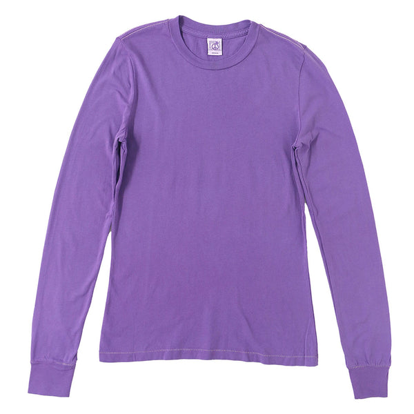 Peace Store Long Sleeve Cotton Banded Crew Neck - Jubilee