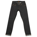Women's 11 oz Gold Selvage Denim Super Slim Stretch Jean - Indigo Rigid