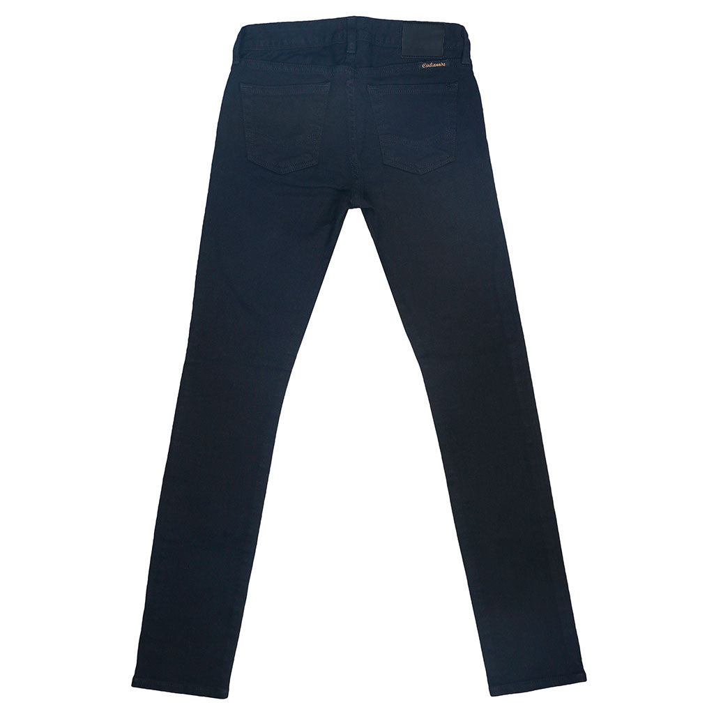 13.5 oz. Stretch Twill 5-Pocket Super Slim Jean - Jet Black