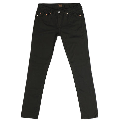Women's 8 oz. Stretch Twill 5-Pocket Super Slim Jean - Jet Black