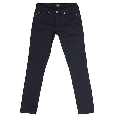 Women's 8 oz. Stretch Twill 5-Pocket Super Slim Jean - EZ Dark Navy