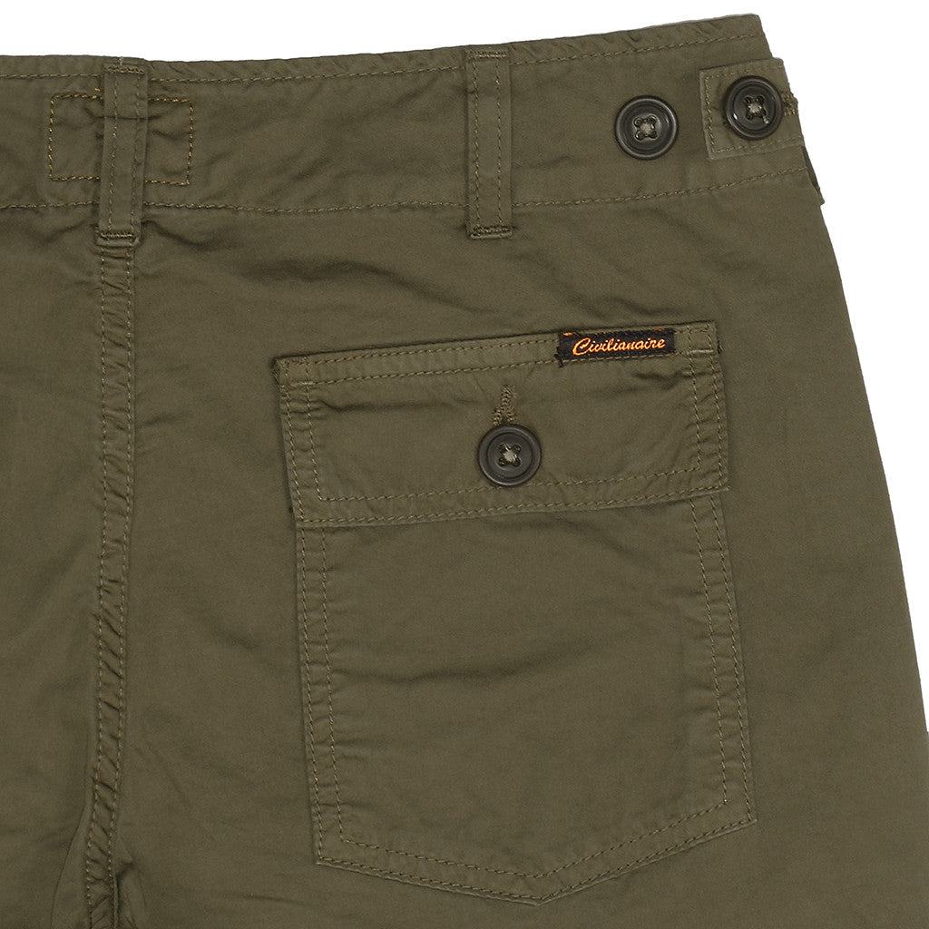 Women's Cotton Sateen Military Pant - Platoon Olive
