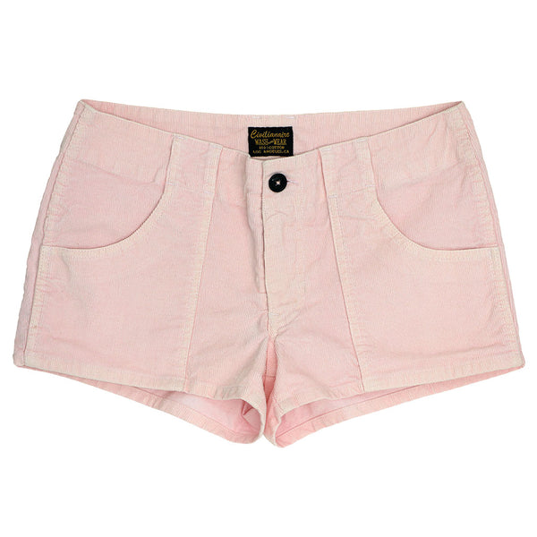 Lightweight Cotton Corduroy 3-Pocket Mili Short - Pink Clover
