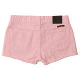 Women's Cut-Off Boyfriend 5-Pocket Twill Short - Pink Clover