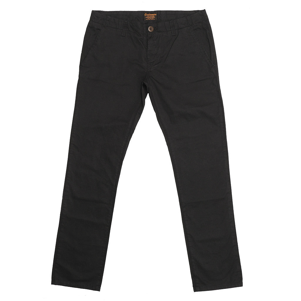 Cotton Sateen Trouser Pant - Sharp