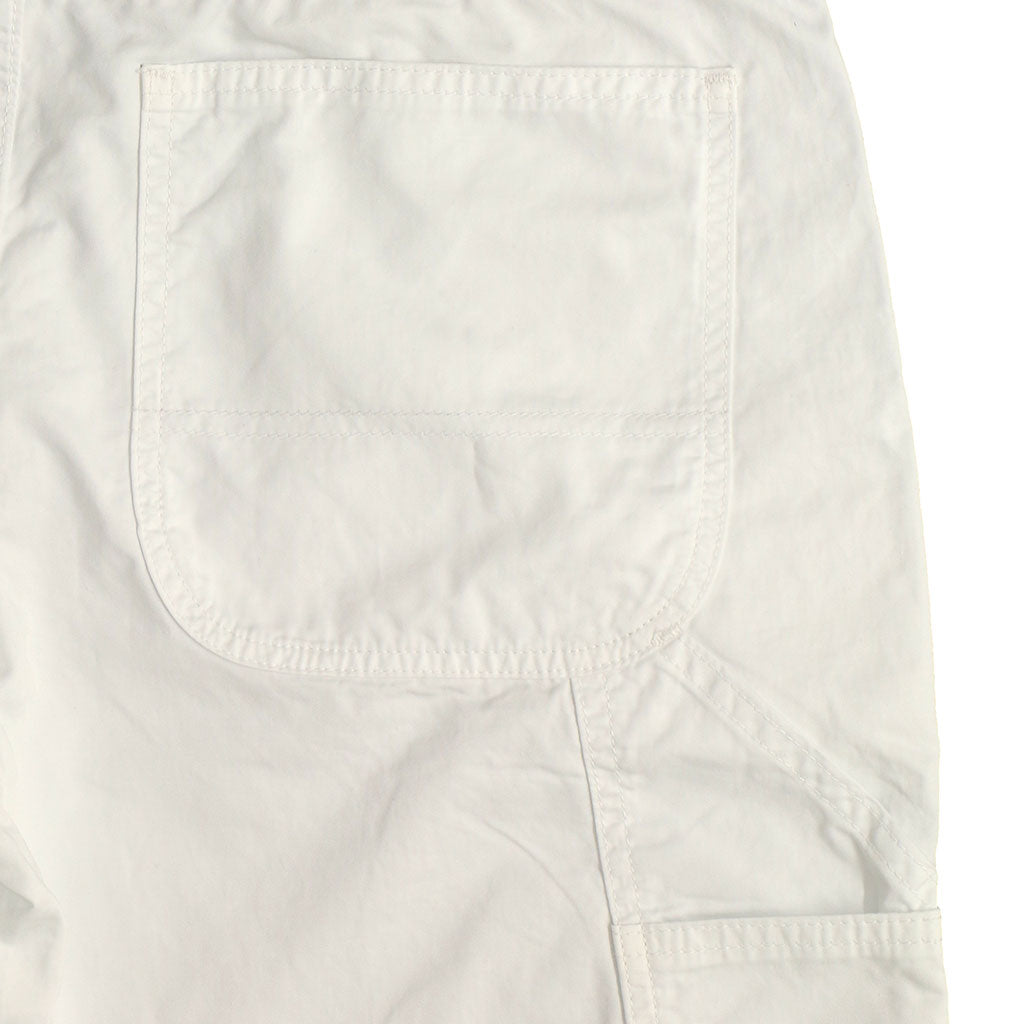 4.5 oz COTTON Sateen JUMPSUIT/ COVERALL - White