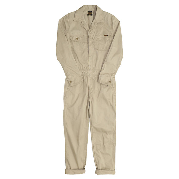 4.5 oz. Cotton Twill JUMPSUIT/ COVERALL - KHAKI 2