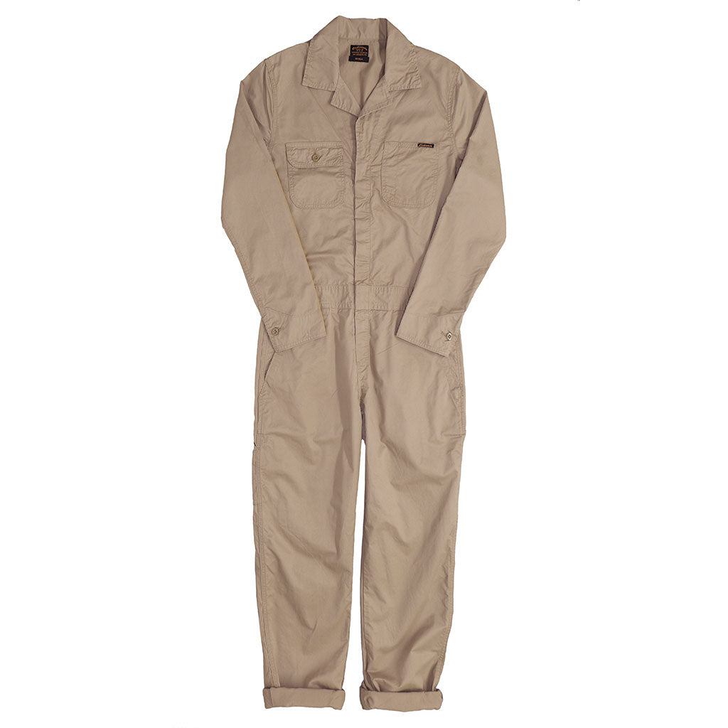 4.5 oz. Cotton Twill JUMPSUIT/ COVERALL - KHAKI 3