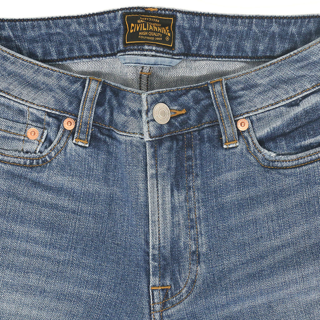 11.3 oz Denim Slim Straight - Venice Wash