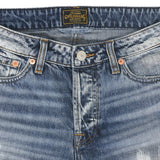 12.4 oz Denim Tomboy Jean - Malibu Wash
