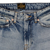12.4 oz Denim High Rise Wide Leg Jean - Monterey Wash