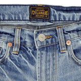 12.4 oz Denim Shorty Shorts - Rincon Wash