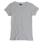 Banded SS Crew Neck Tee - Soft Coin