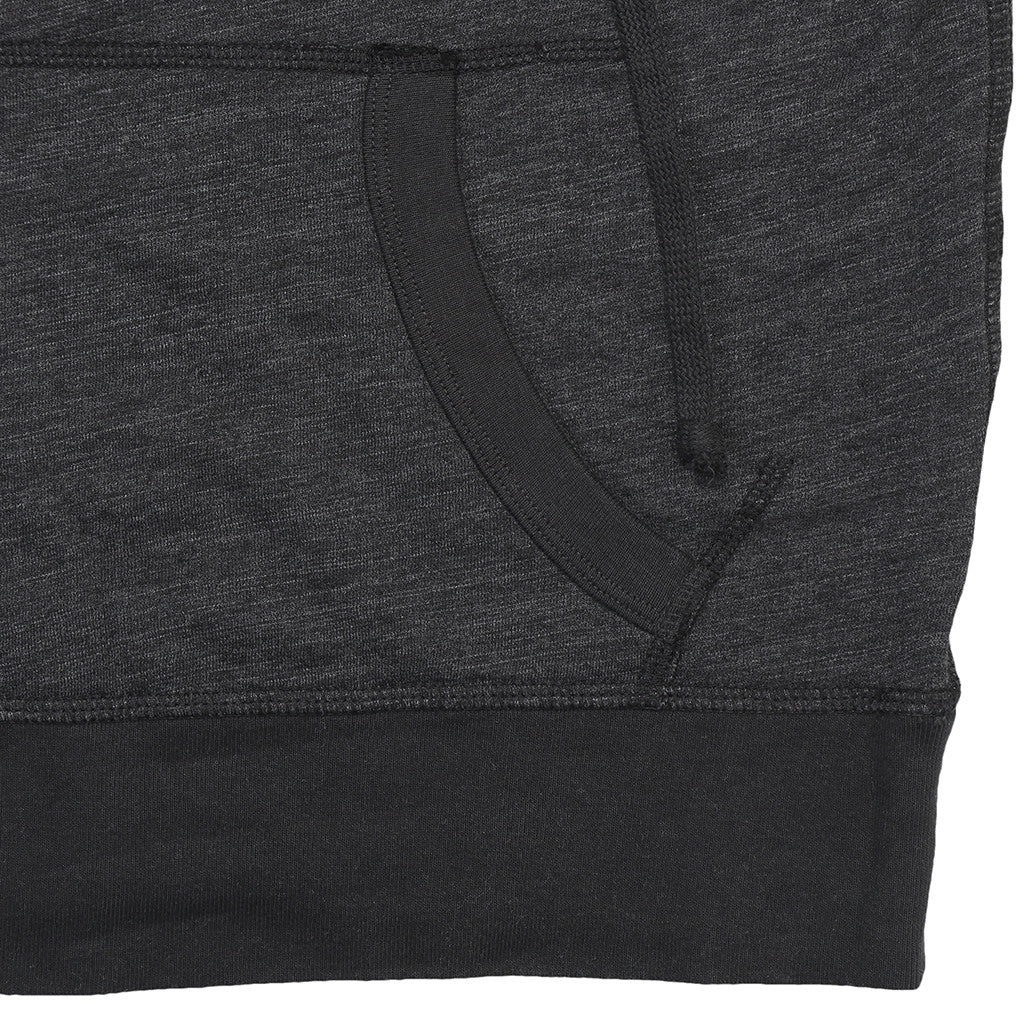 Women's Sleeveless Half-Zip Tri-Blend Hooded Sweatshirt - Sharp