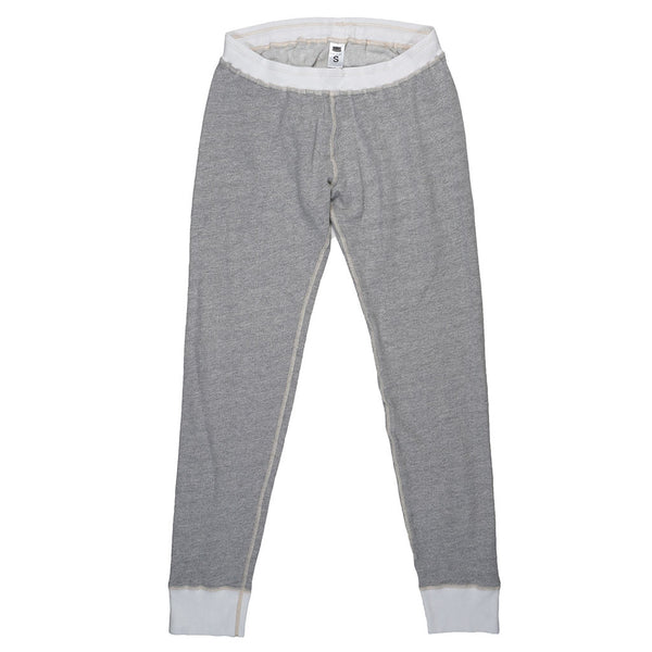 Drawstring Elastic Waist Fleece Sweatpants - Heather