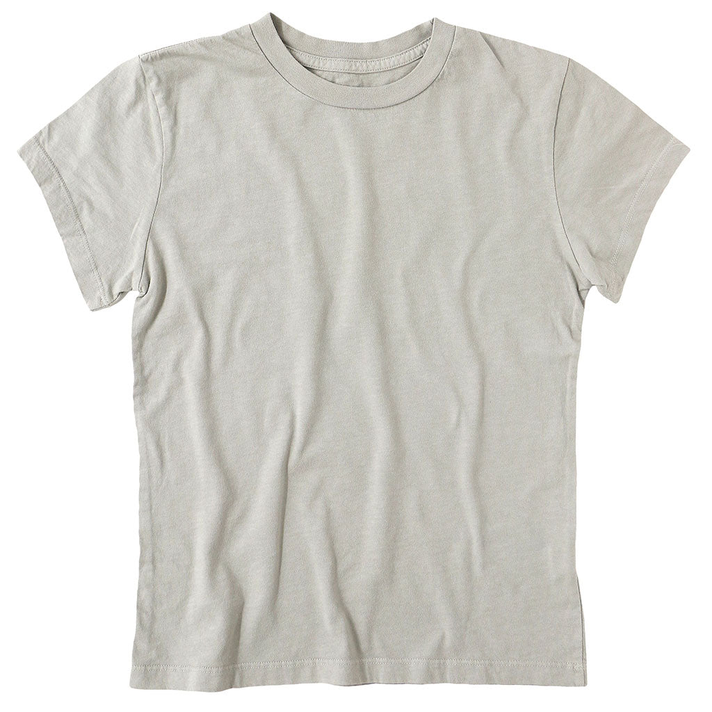 Women's Crew Neck Short Sleeve Tee - Hay