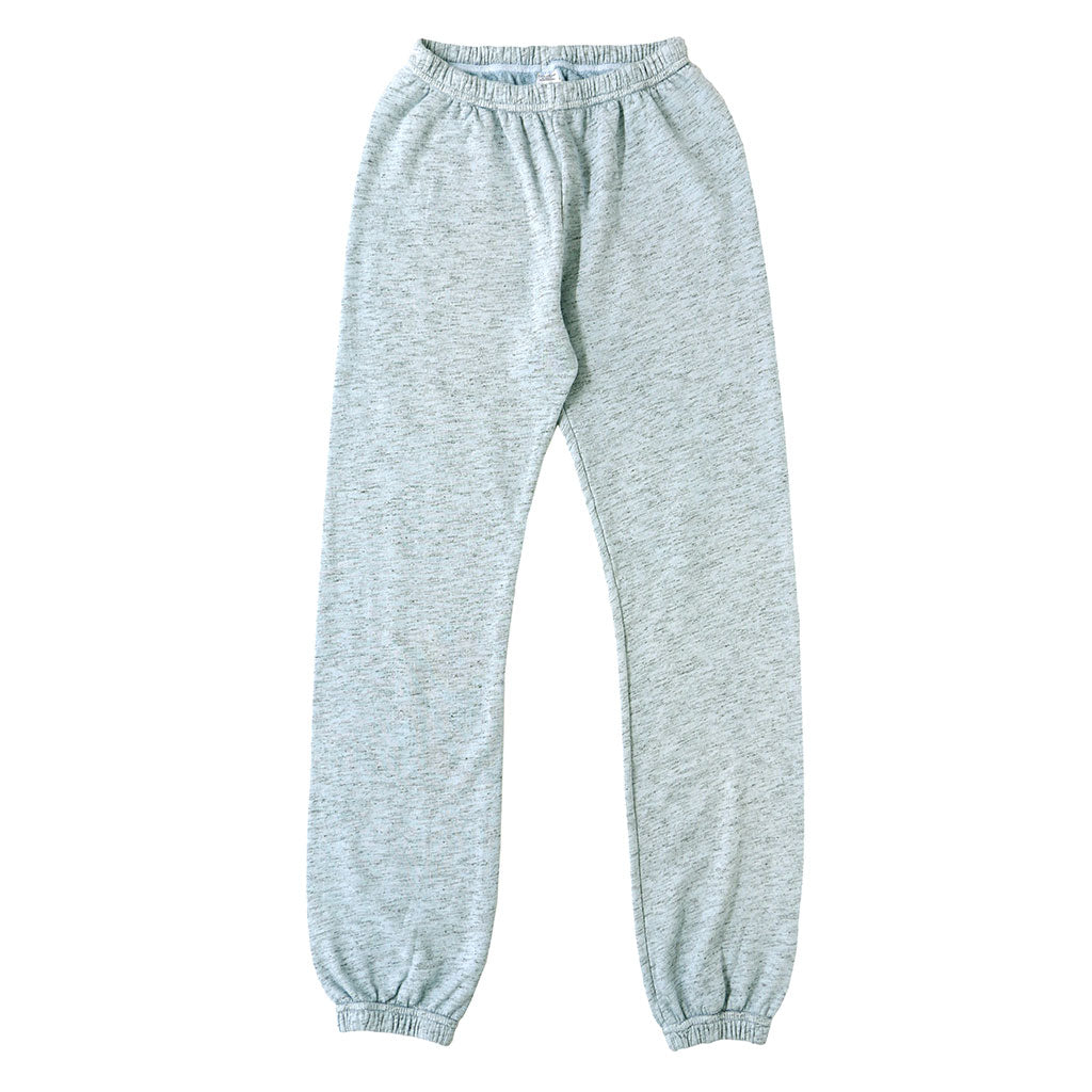 "Streaky French Terry ""Peace"" Sweatpants - Skyra Blue"